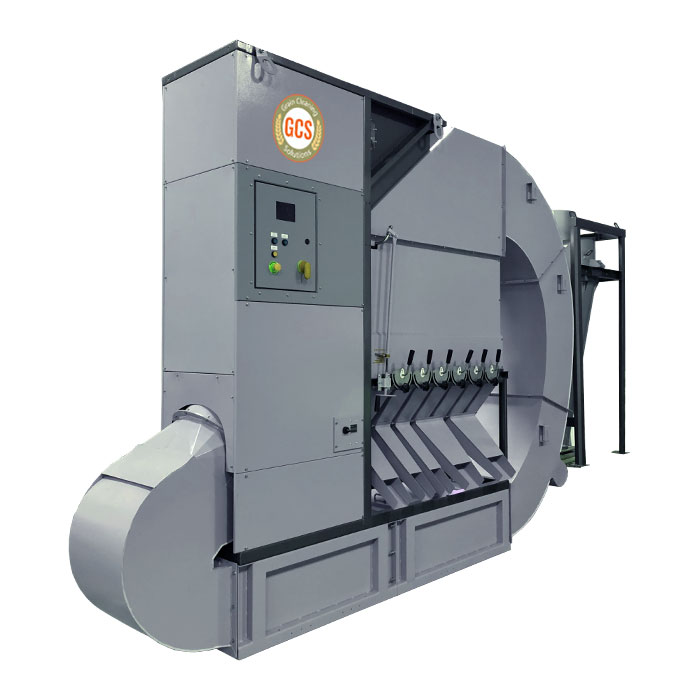 GCS Fully Enclosed Grain Cleaner